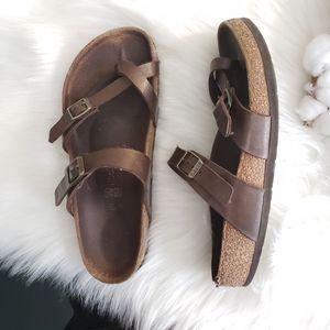 Birkenstock | 39 bronze Mayari sandals